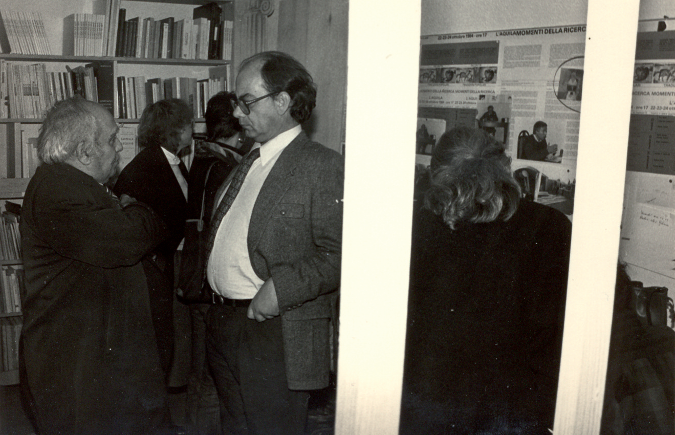Diego Carpitella e Claudio Casini