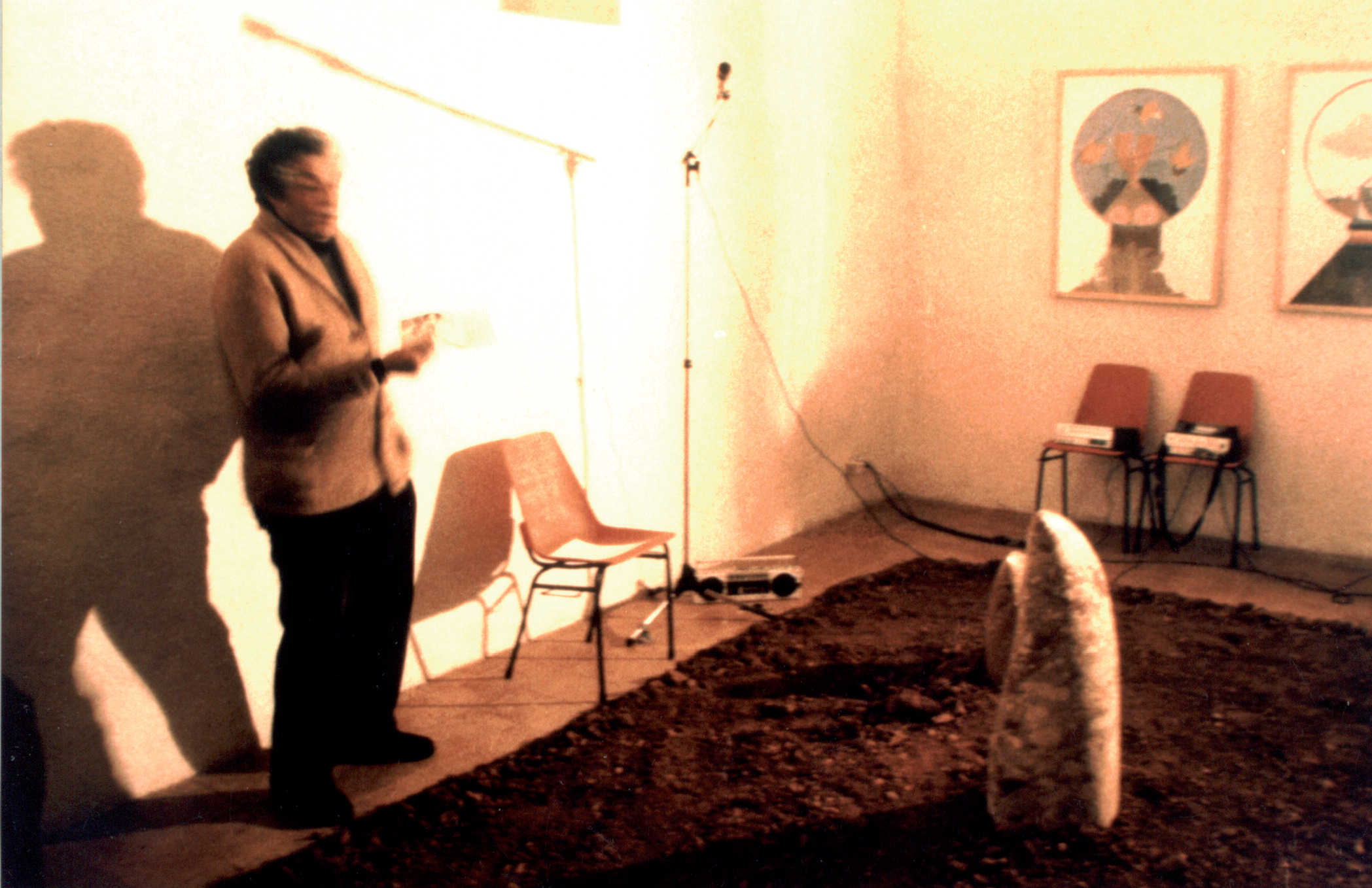 Tito Spini presenta la mostra