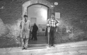 Il pittore Guelfo e Roberto Soldati