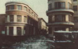 Sequenza del film sull'Aquila
