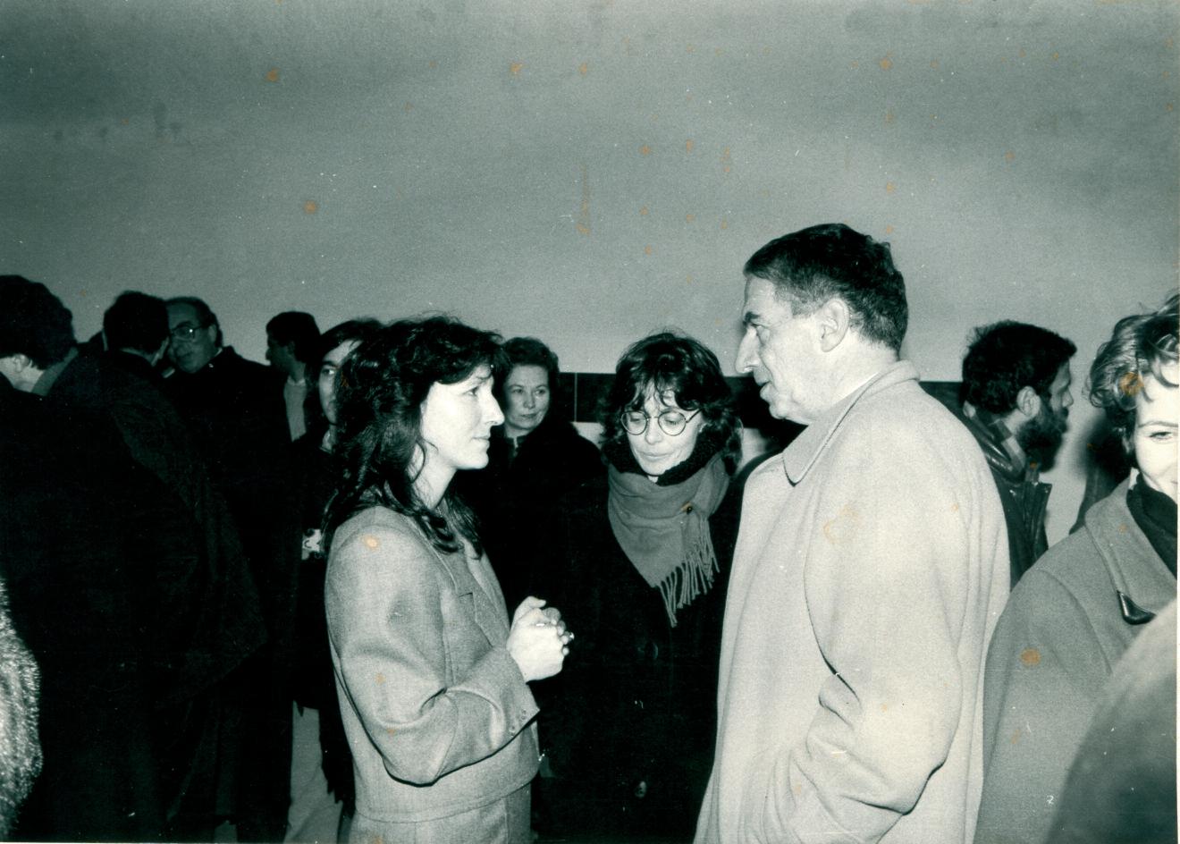 Inaugurazione della mostra. Lea Contestabile e Bernardino Marinucci