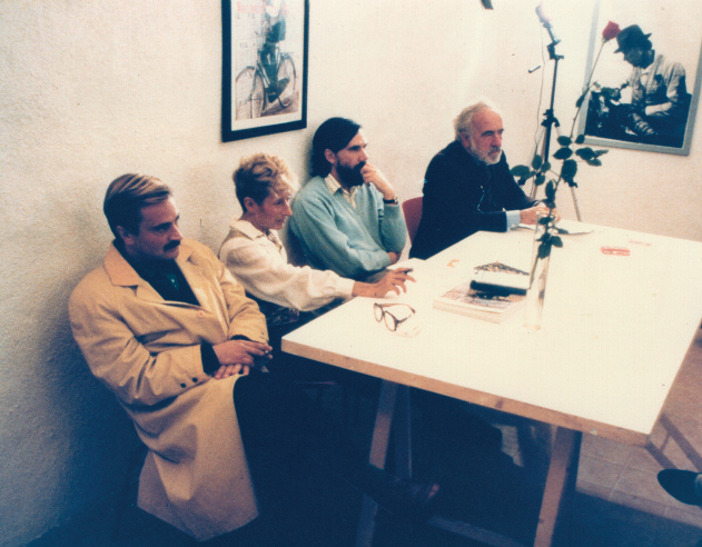 Rolando Alfonso, Lucrezia De Domizio, Enrico Sconci e Buby Durini