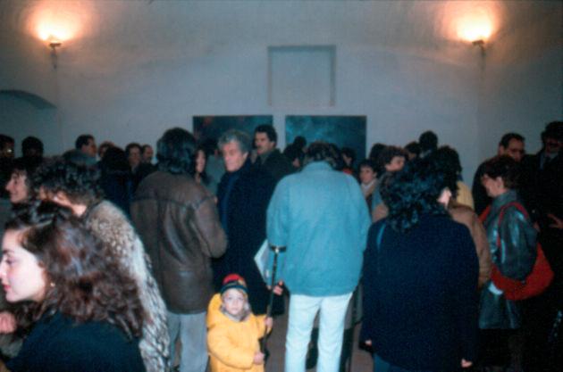 Pubblico durante l'inaugurazione