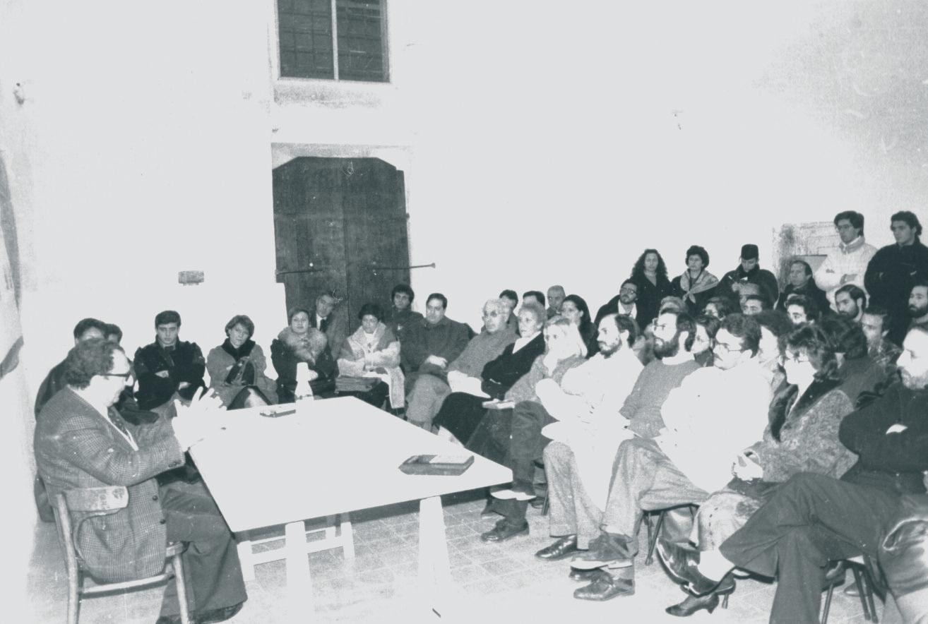 """Conferenze del prof. Raffaele Colapietra al centro multimediale """"Quarto di Santa Giusta"""""""