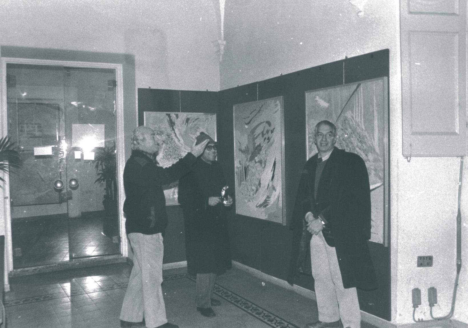 Nino Gagliardi, Walter Tortoreto e Bernardino Marinucci
