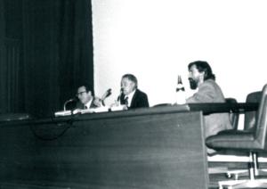 Raffaele Colapietra, Ferdinando Bologna, Enrico Sconci