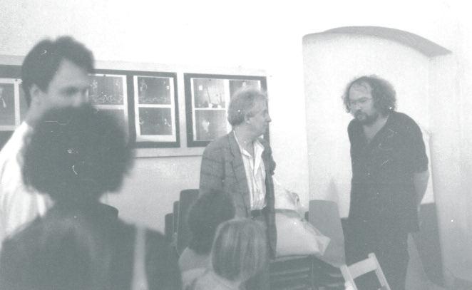 Inaugurazione della mostra con studenti tedeschi