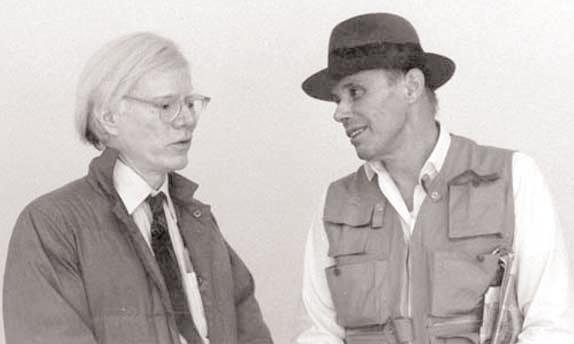 Andy Warhol e Joseph Beuys