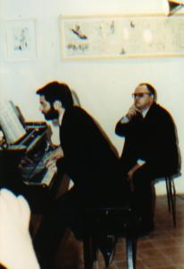 """Mauro Castellano esegue al pianoforte il concerto """"in galleria"""""""