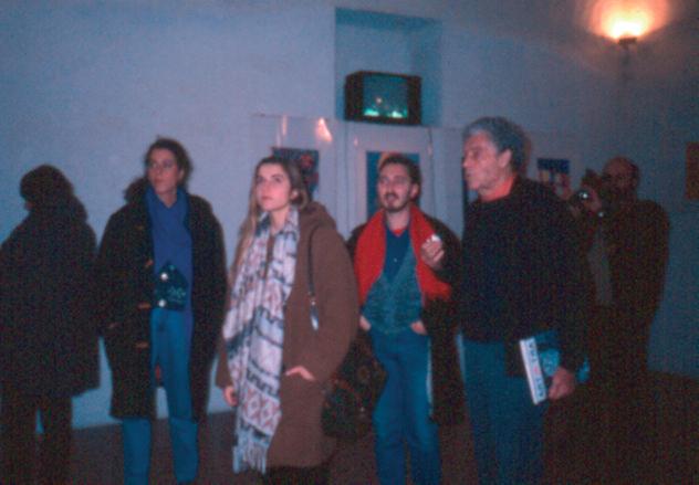 Sulla destra Tito Spini