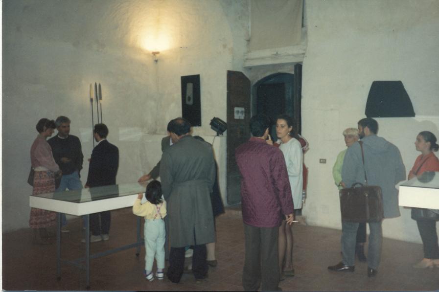 Foto dell'inaugurazione della mostra