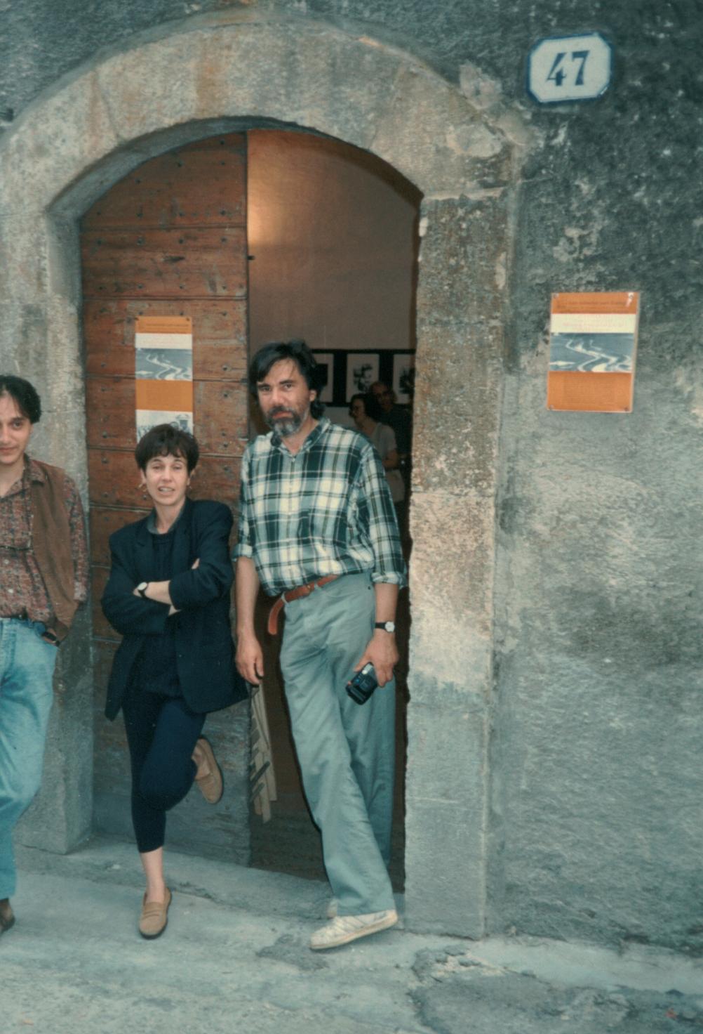 Antonello Saltarelli, Carla Mastropietro, Enrico Sconci