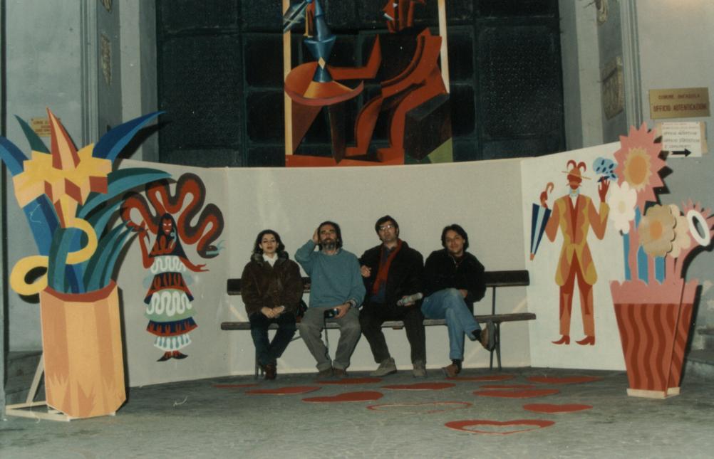 Licia Galizia, Enrico Sconci, Armando Gioia, Antonello Santarelli