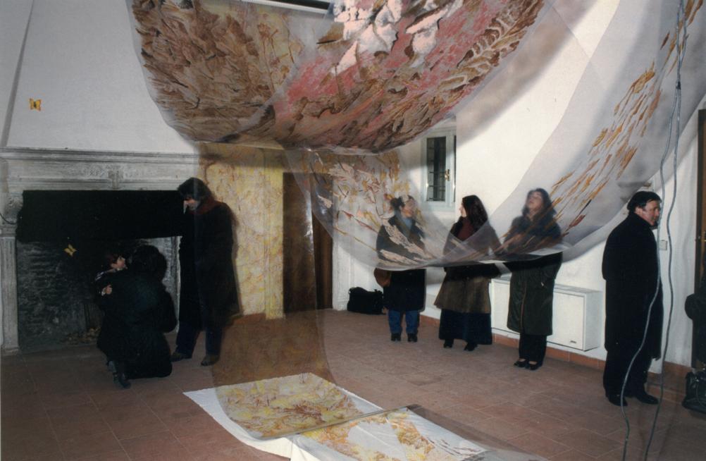 Allestimento della mostra