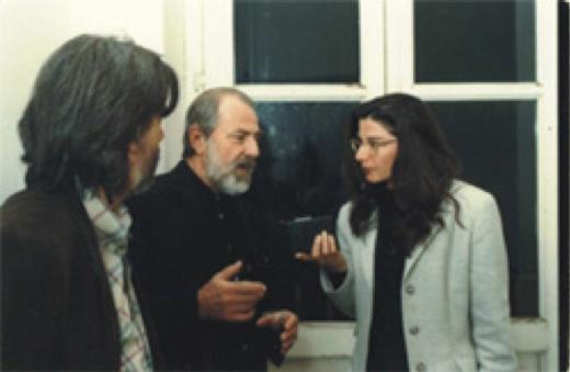 Enrico Sconci, Michelangelo Pistoletto, Angela Ciano