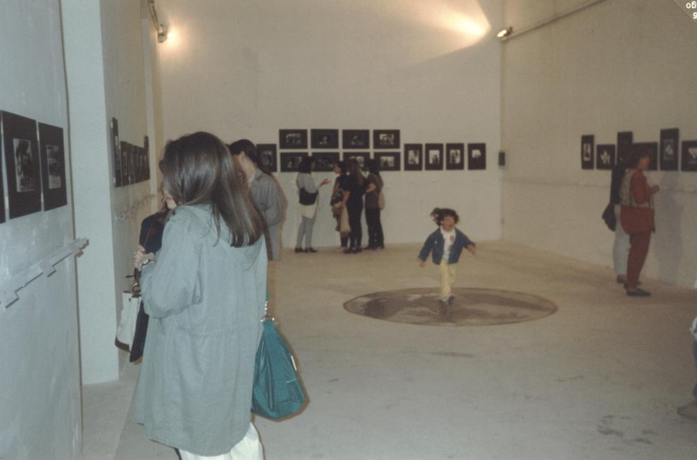 Momenti della mostra nei locali dell'ex Accademia di Belle Arti, convento di S. Maria de' Raccomandati
