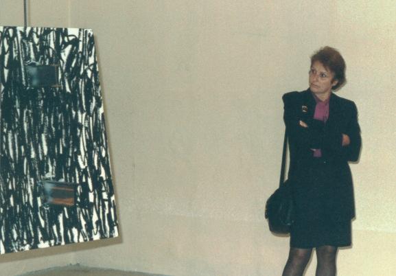 Installazione di Janis Kounellis al Muspac