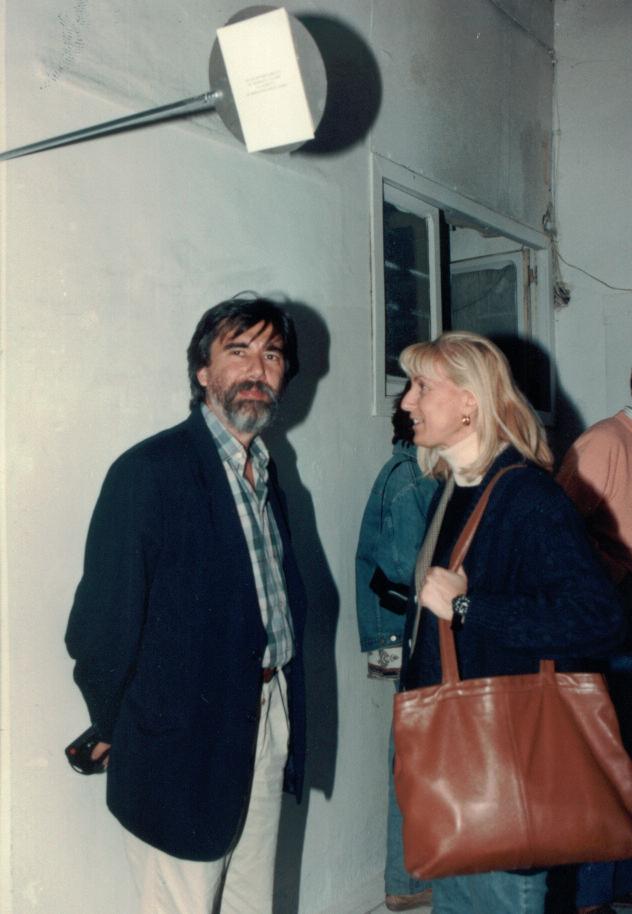 Enrico Sconci e Laura Cherubini