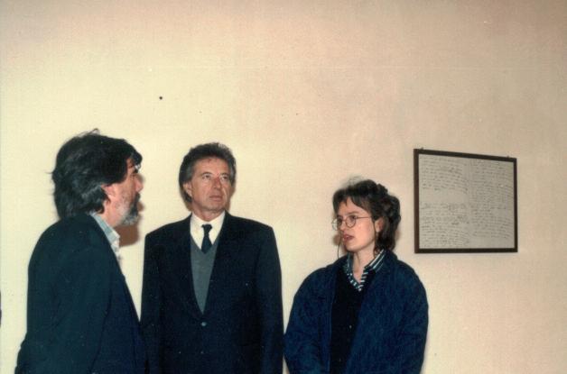 Enrico Sconci, Mario Pieroni, Carolyn Christov-Bakargiev