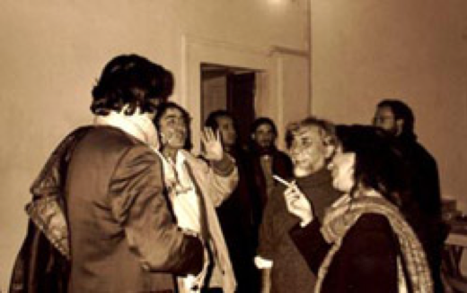 Al centro della foto: Giorgio Bonomi e Tony Ferro