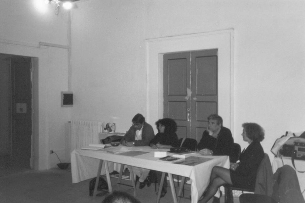 Da sinistra: Giorgio Bonomi, Gabriella Dalesio, Renato Mambo, Vittoria Coen