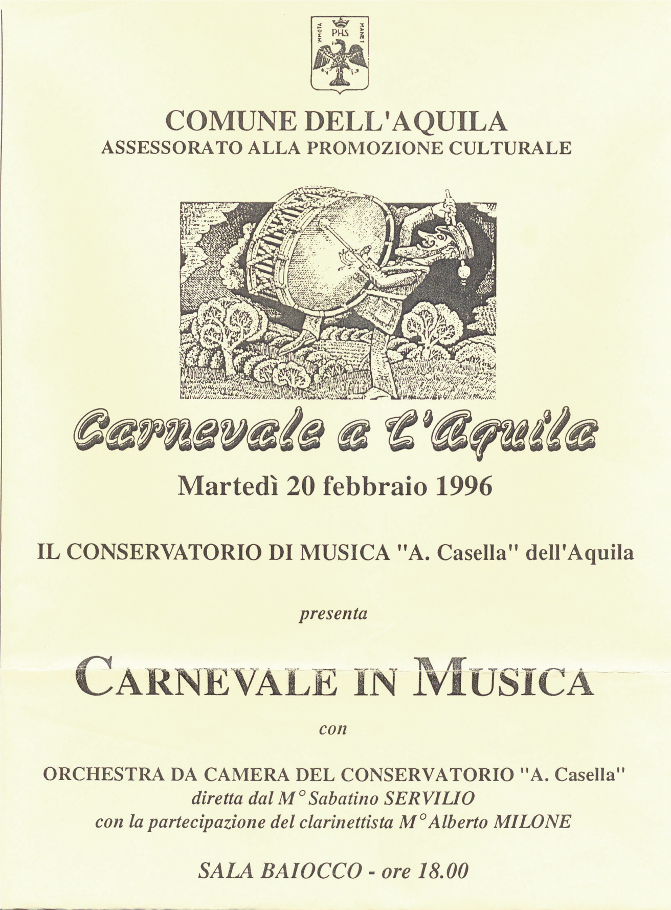 carnevale in musica