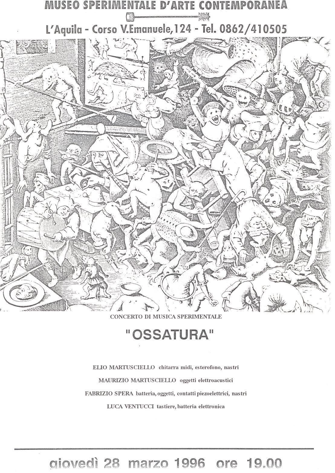 ossatura locandina