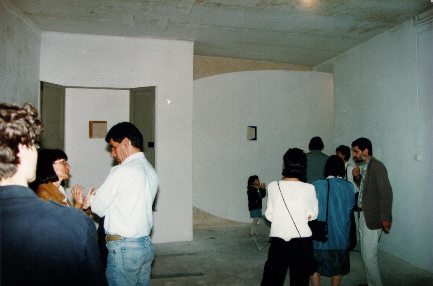 Immagini delle varie installazioni nelle sale del Muspac nell'ex monastero di S. Maria dei Raccomandati