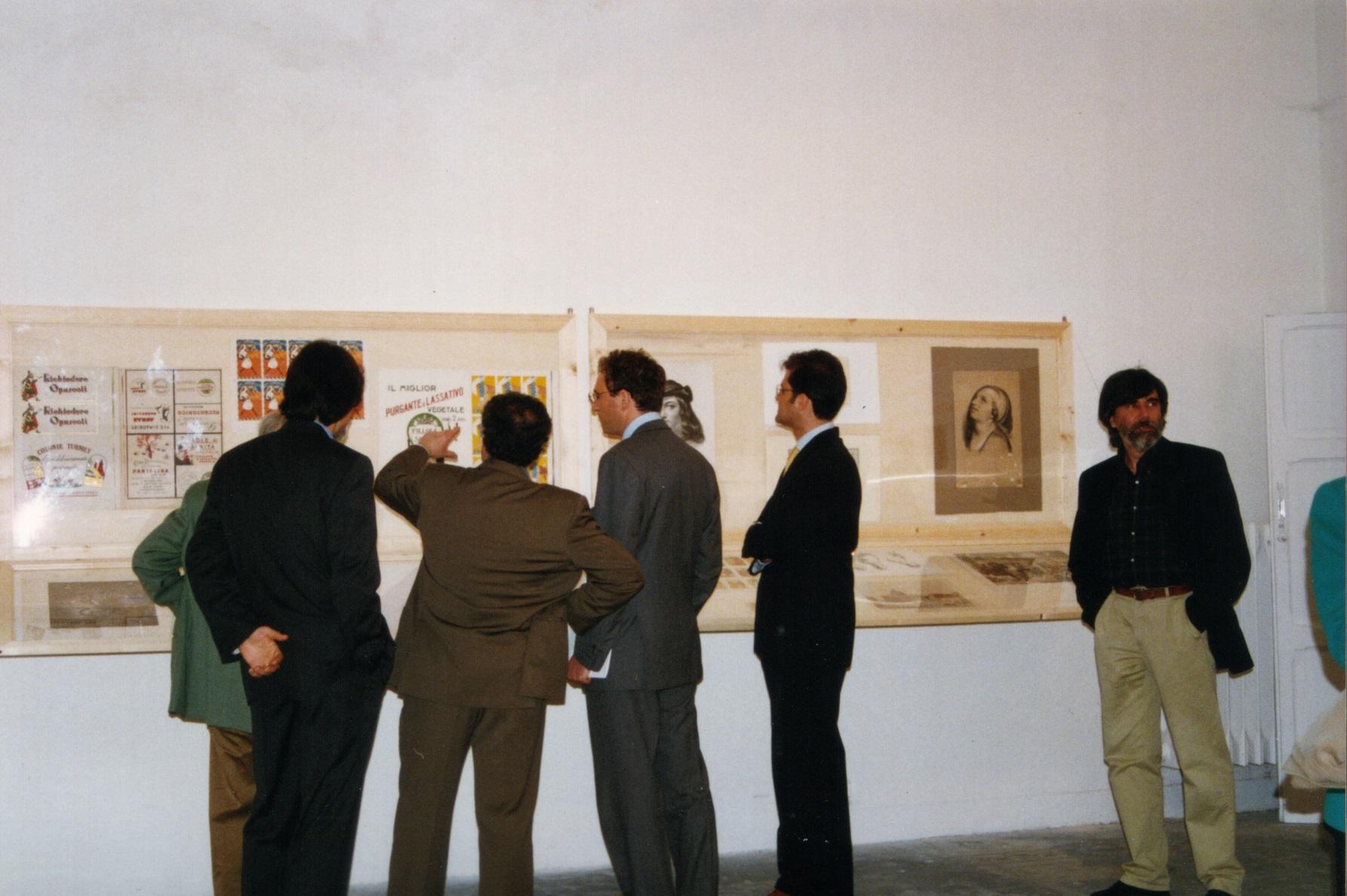 Inaugurazione della mostra al Muspac