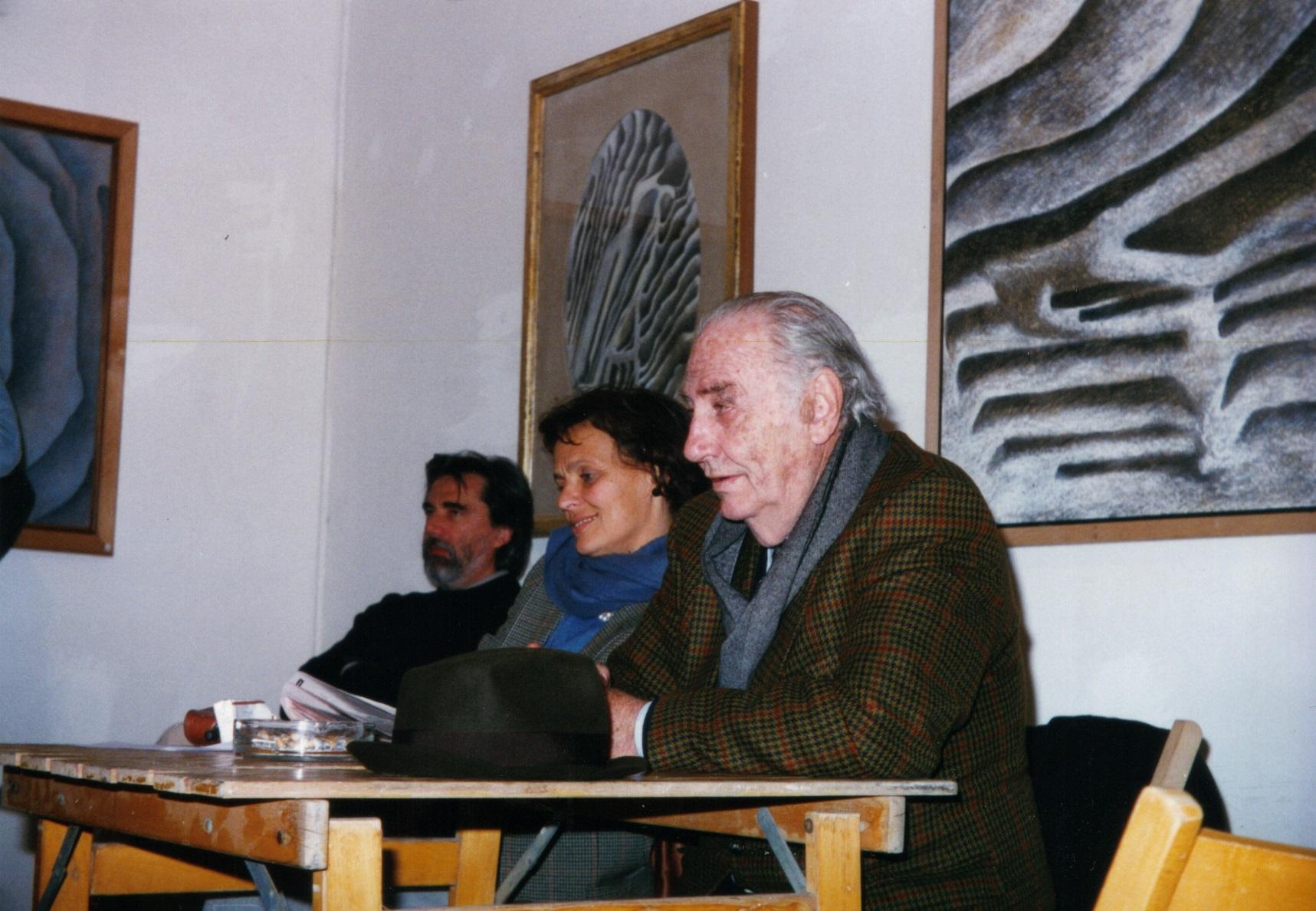 In primo piano Fabio Mauri