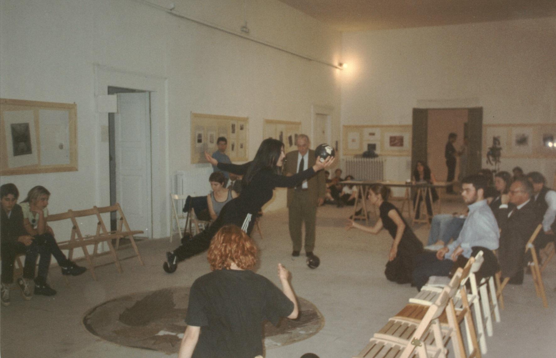 Prove aperte della performance presso le sale del Muspac