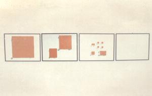 """Mario Merz. """"Tavoli"""", 1974/1985"""