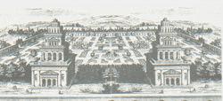 """Giulio Paolini. """"Il modello del tempio, il tempio del modello"""", 1986"""