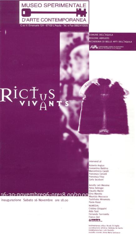 Rictus vivans