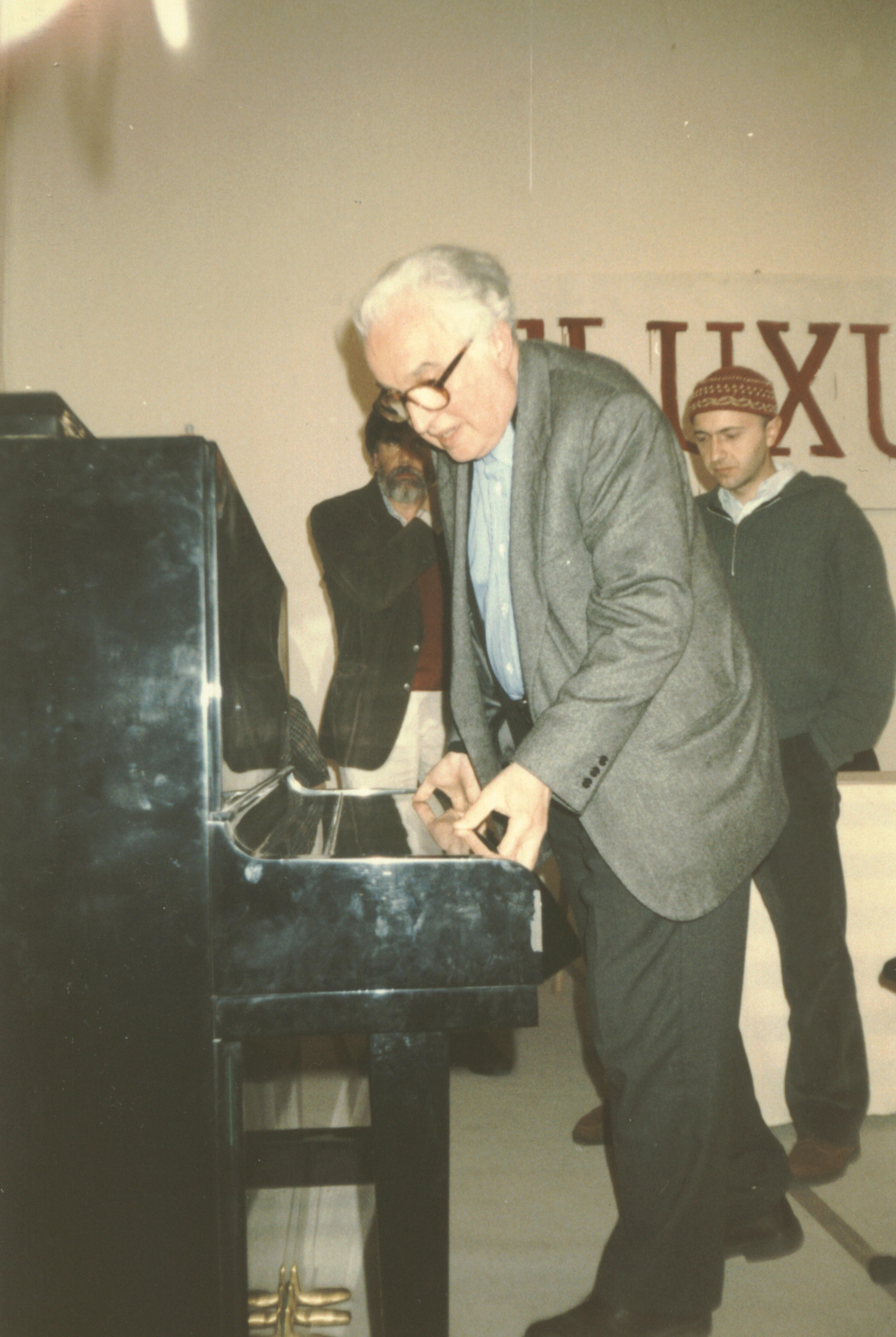 Mostra Giuseppe Chiari 1997