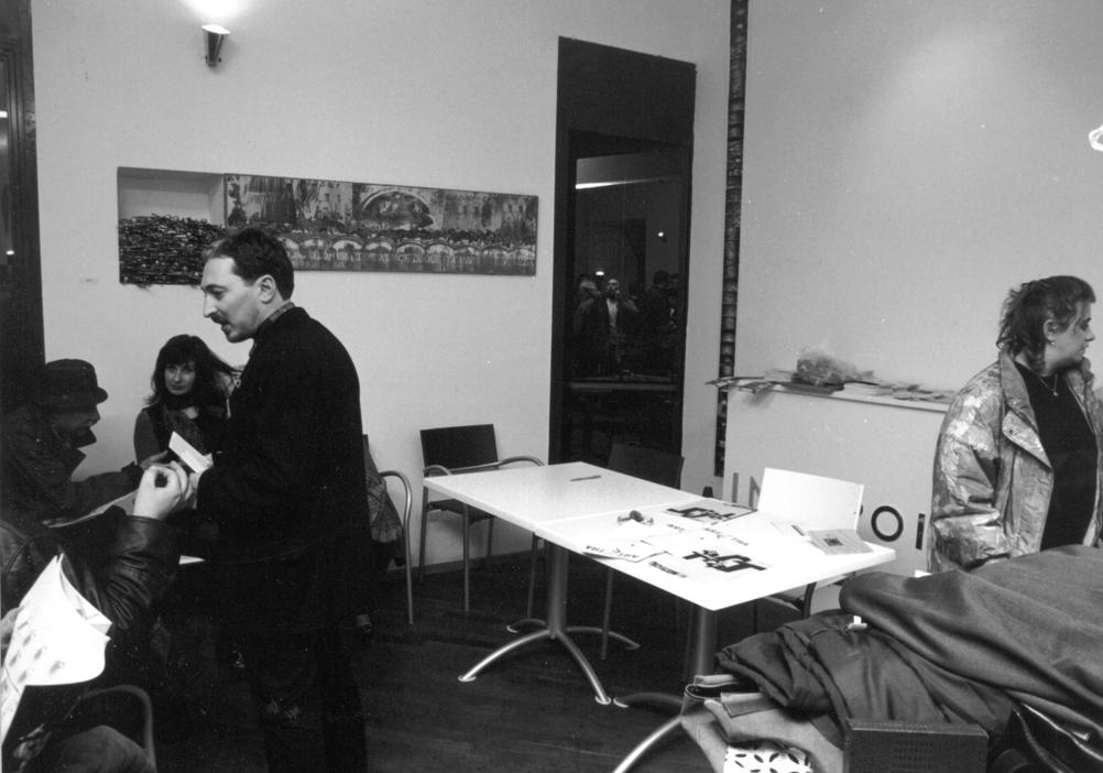 """Incontro presso lo studio di Riccardo Dalisi e nella sede di """"Art Cafè"""" a Palazzo Carafa della Spina"""