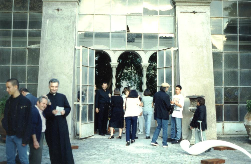 Cortile interno di Castello Brancaccio