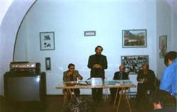 Da sinistra: Walter Tortoreto, Massimo Carboni, Massimo Modica, Mariano Apa