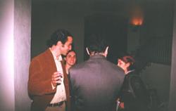 Sulla sinistra Paolo Radi