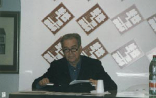 Il poeta Nanni Balestrini