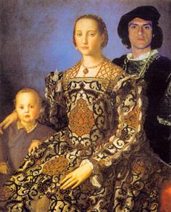 Antonio Di Campli, Ritratto di Eleonora di Toledo con presunto Conte di Campli da Verona