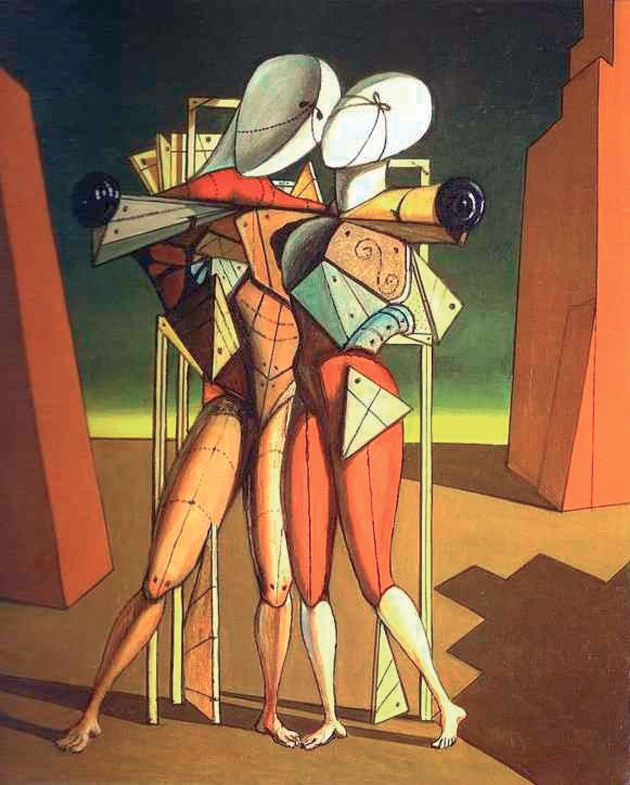Giorgio De Chirico, Ettore e Andromaca, 1917