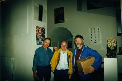 Antonello Colimberti, James Koller, Gary Snyder