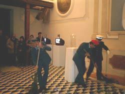 """Performance de """"I Santini Del Prete"""""""