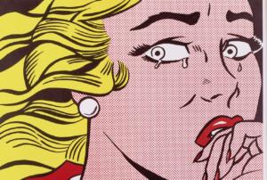 Roy Lichtenstein, Cry Girl