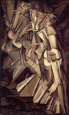 M. Duchamp, Nudo che scende le scale, 1912