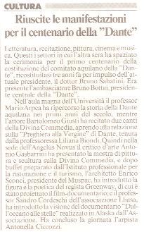 """""""Il Messaggero"""" 21 aprile 2005"""