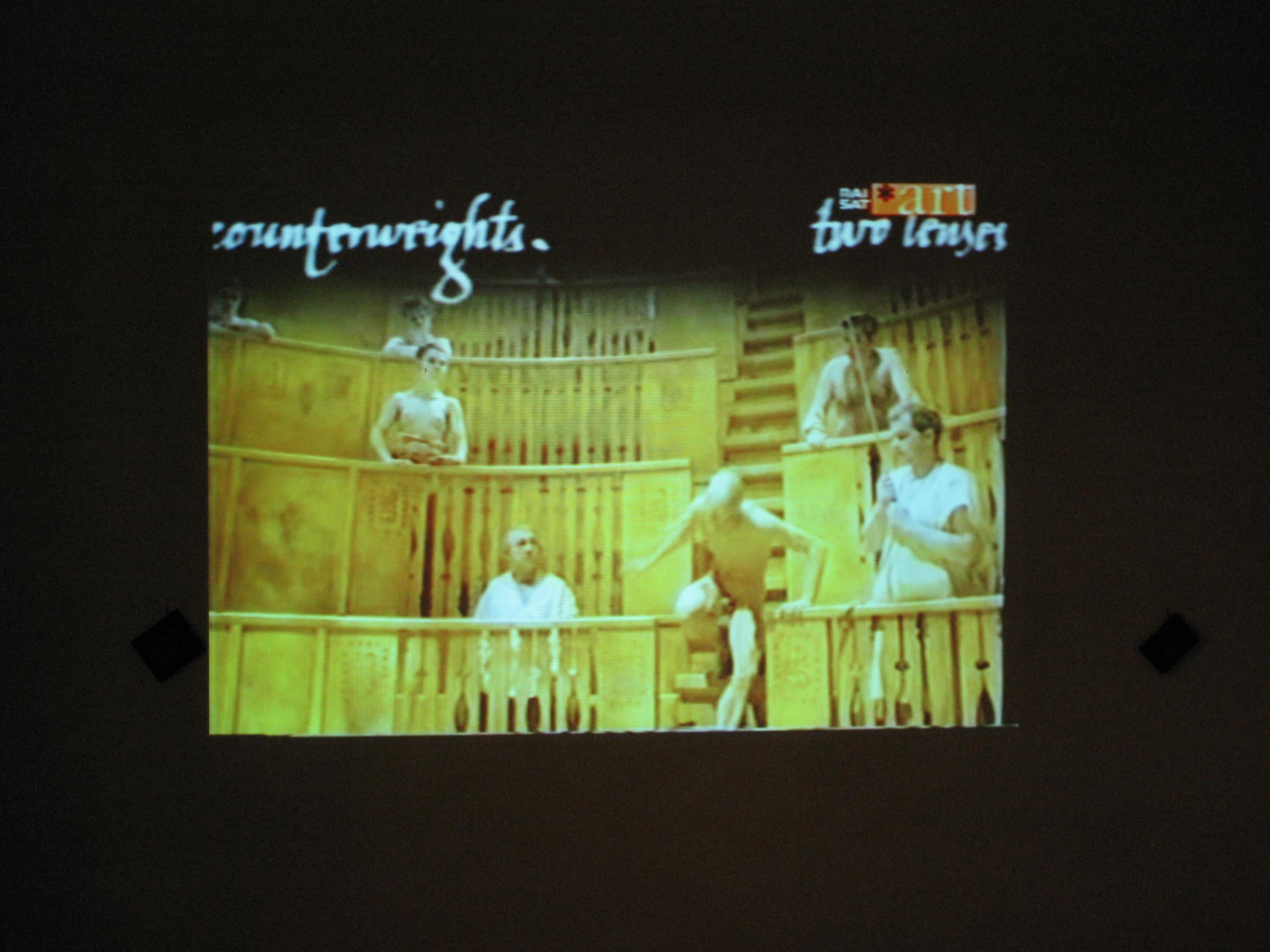 """Fotogrammi del film """"M is for Man Music Mozart"""" di Peter Greenaway"""