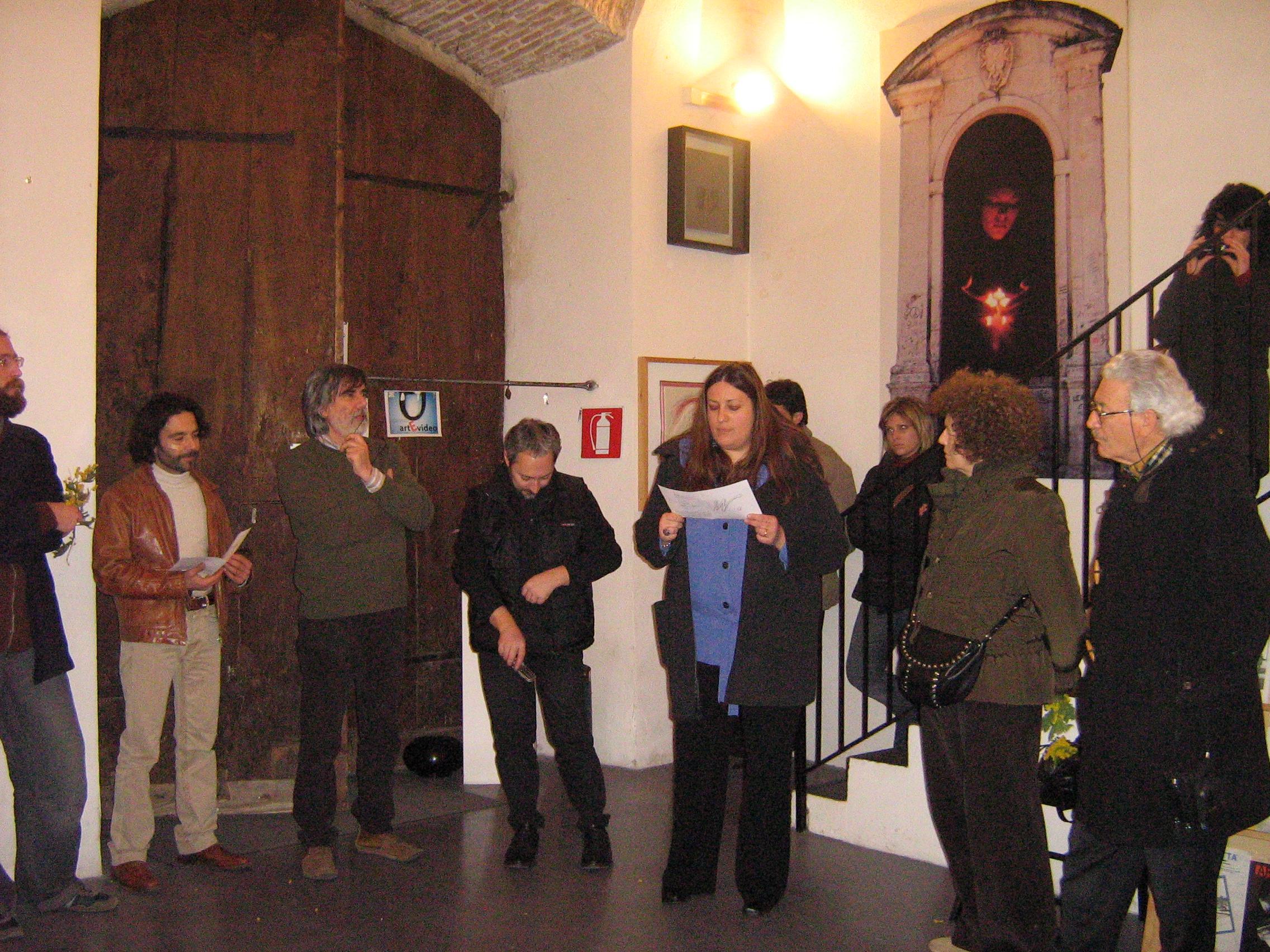 Presentazione della mostra di Franco Fiorillo