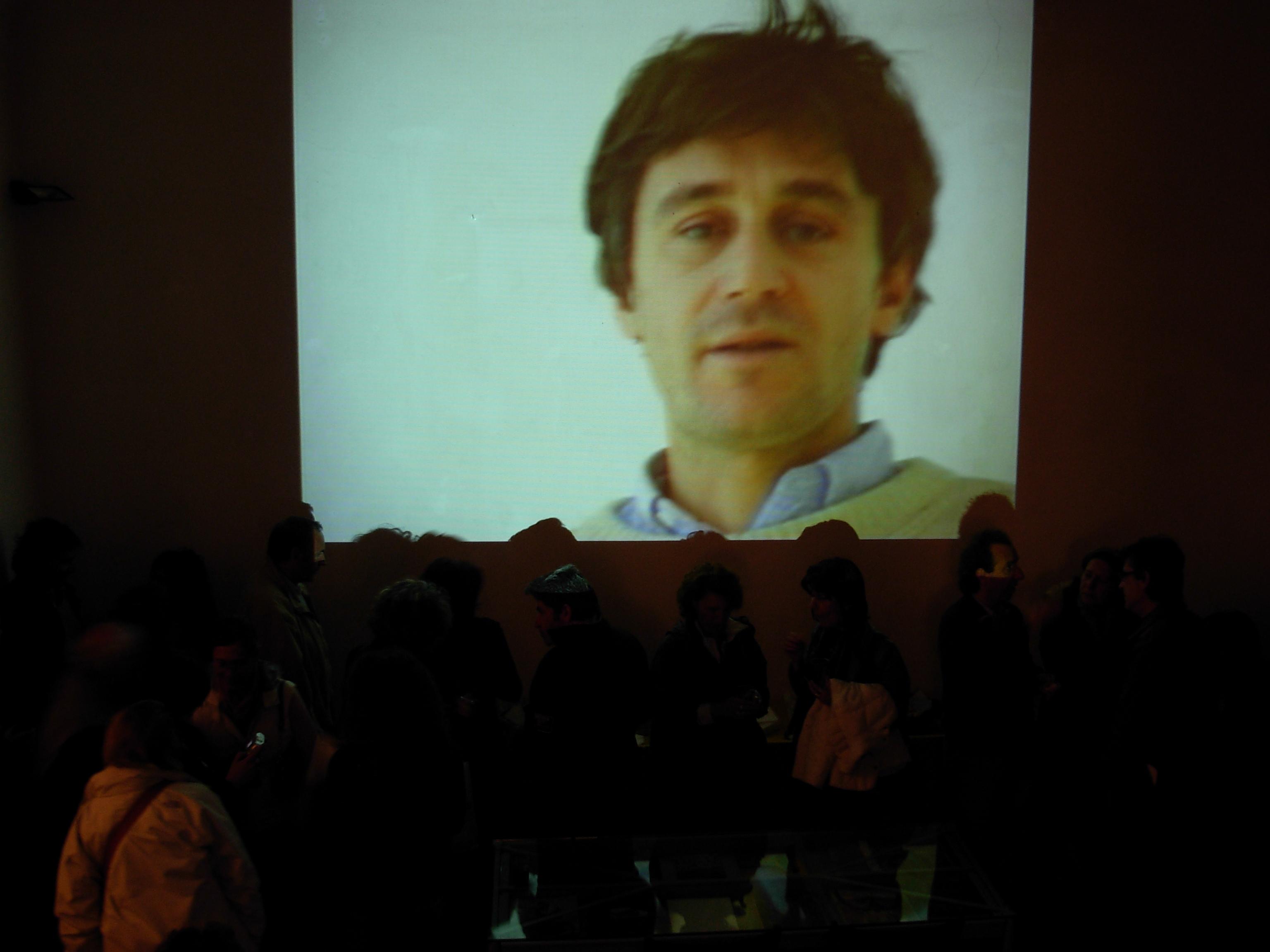 Video dell'artista Corrado Sassi